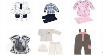 vente de vêtements pour la naissance de bébé